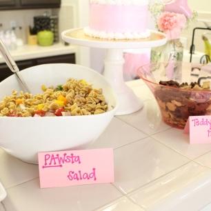 Homemade PAWsta salad